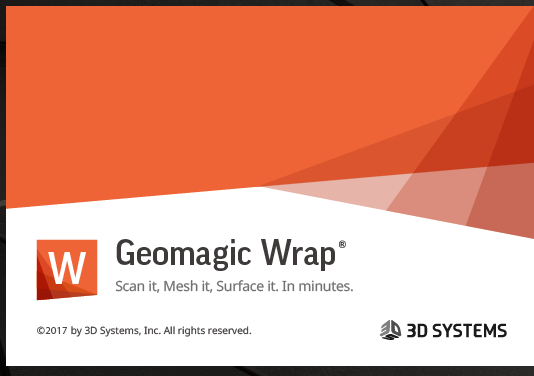 Geomagic Wrap起動時